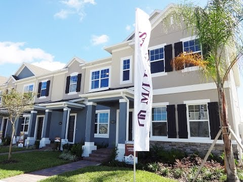 Summerlake Groves by M/I Homes - Rutland Model Townhome - Winter Garden New Townhomes