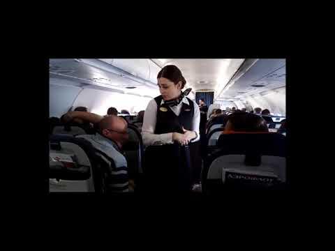 АЭРОФЛОТ: конфликт на борту 19/02/2018