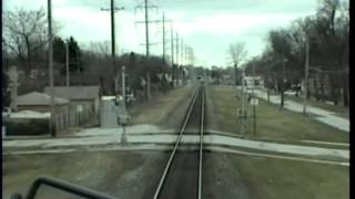 Final days of the Old Wisconsin Central-Cab view from 1999.