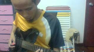 In and Above Men (Moonspell guitar cover by TeacherNabil)