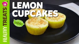 Healthy Homemade Lemon Cupcakes