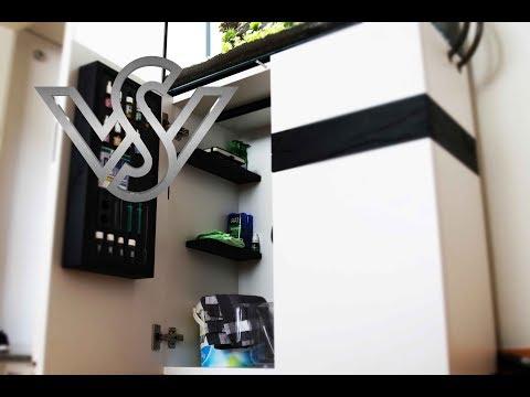Modern Aquarium Build Diy Stand / Furniture Design