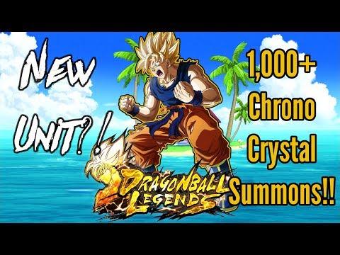 Dragon Ball Legends CLOSED BETA 2: 1000+ Chronocrystal Summons!!