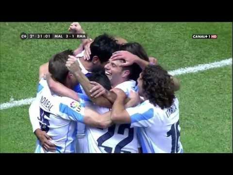 Málaga C.F.- Real Madrid - Isco/Joaquin. The best connection