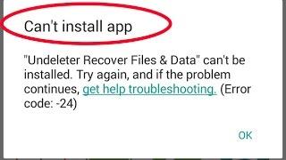 how to fix google play store error code-24