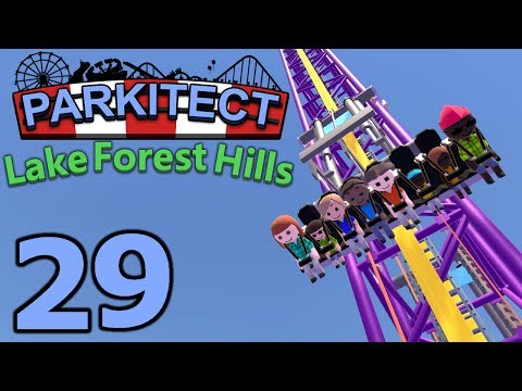 Parkitect Lake Forest Hills - Part 29 - Three More Flat Rides!