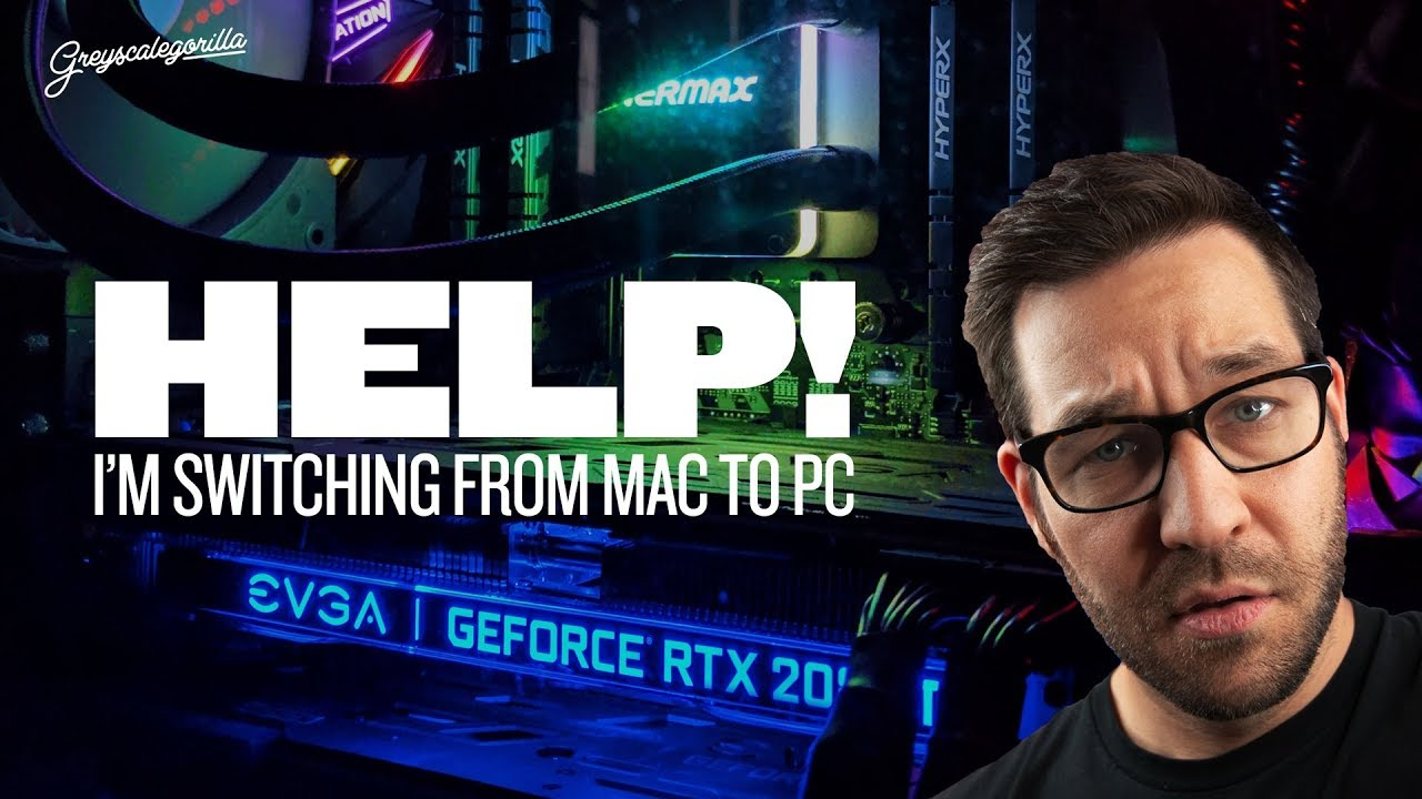 Switching from Mac to PC  What PC Do I Need for 3D? | Greyscalegorilla