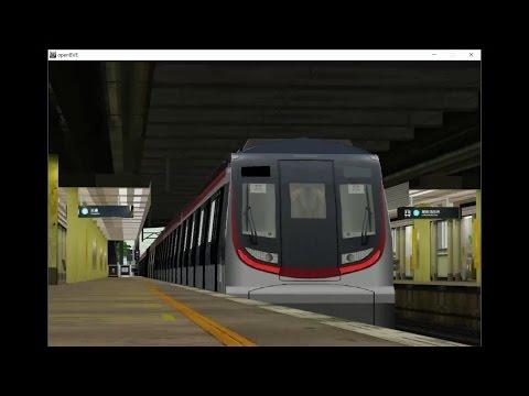 [OpenBVE] 港鐵南北綫MTR North-South Line R-Train(Lo Wu to Admiralty 羅湖至金鐘)