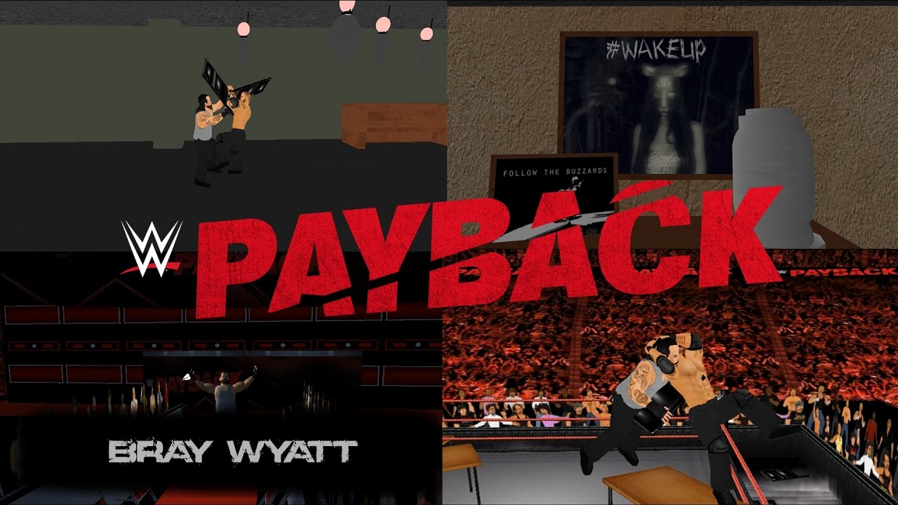 Download Randy Orton vs Bray Wyatt- House of Horrors Match: WWE Payback 2017