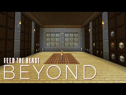 FTB Beyond w/ xB - STORAGE SOLUTION [E07] (Modded Minecraft)