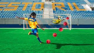 Batemos Penalti com Jogadores Profissionais