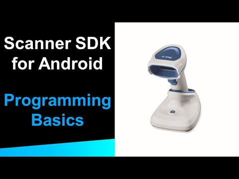 Zebra Scanner SDK for Android: Programming Basics - YouTube