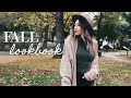 Fall Fashion Lookbook 2017 | AUTUMN OUTFITS