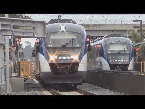 Railfanning the (NCTD) Sprinter - 7/25/14