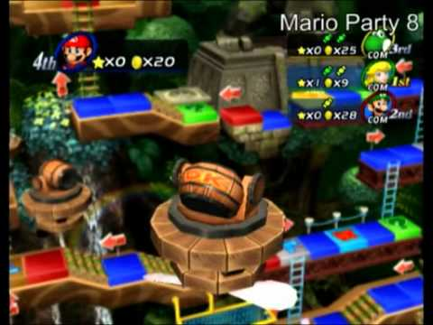 wii mario party 8 trailer youtube. Black Bedroom Furniture Sets. Home Design Ideas