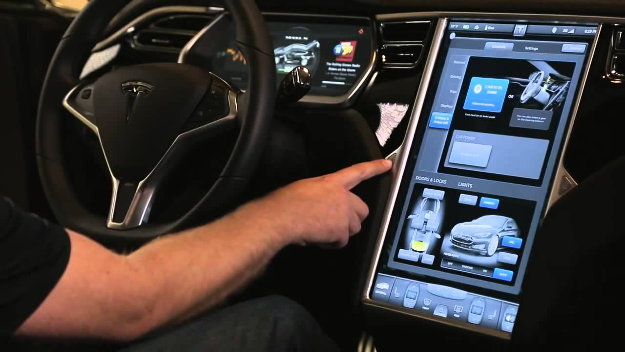 Tesla Model S Official Walkthrough Hd 3d Youtube