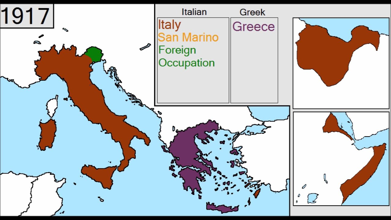 History of Italy and Greece [1815 - 2015] - YouTube