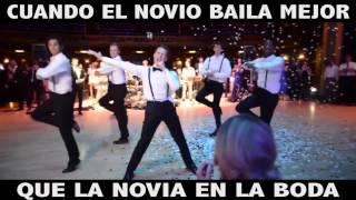 ¡Checa este increíble baile del esposo!