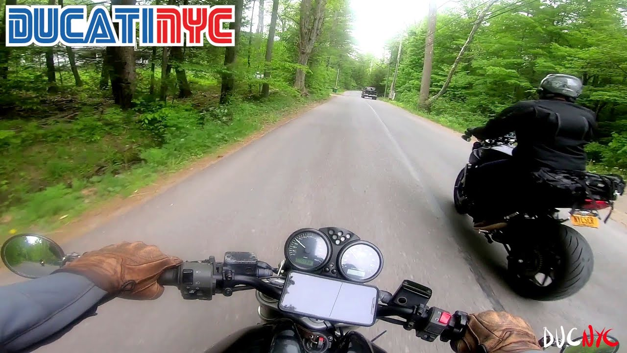 Phoenicia Time Trial - beer and steak run on my Ducati Monster - camping gods v1465