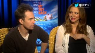 Maya Rudolph is very fond of her 'Way, Way Back' co-star Sam Rockwell