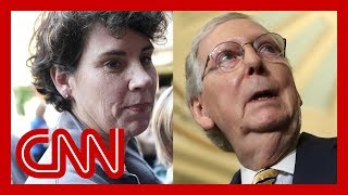 Mitch McConnell's 2020 challenger speaks out