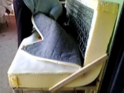 Cama velha vira sof youtube for Sofa que vira beliche