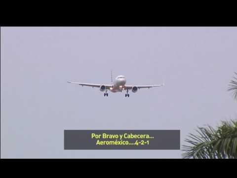 Video: Controlador de vuelo casi provoca accidente en Mérida