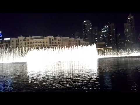 Dancing Waters in Dubai Mall January 2018