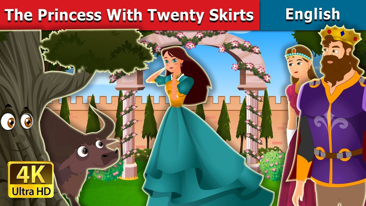 Download Princess with Twenty Skirts Story in English | Stories for Teenagers | English Fairy Tales