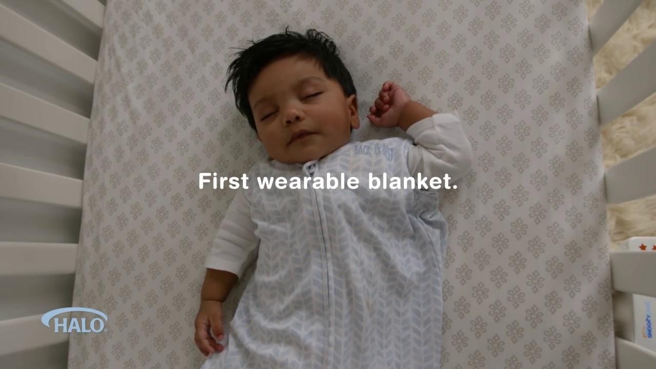 HALO SleepSack - Safe Sleep Made Easier - YouTube e1c8a718b