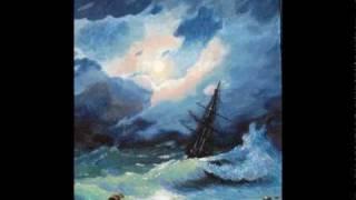 видео айвазовский буря на черном море картина