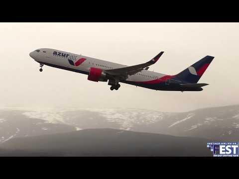 Аэропорт Магадан/Rossiya/Azur/SPOTTING