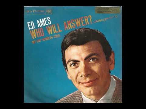 """Weird '60s Songs Illustrated: """"Who Will Answer?"""" (Ed Ames)"""