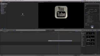 how to easy create 3d logo animation in final cut pro x fcpx and font awesome tutorial