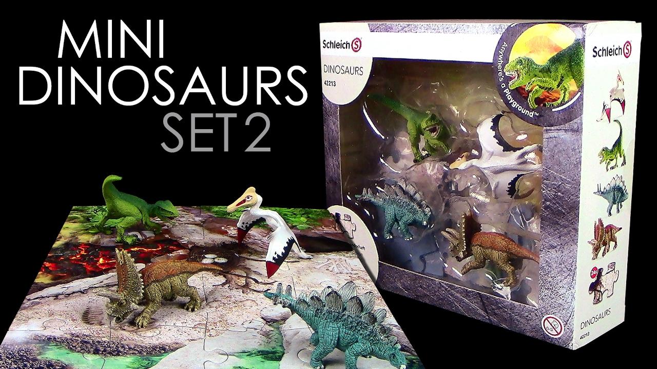 schleich set dinosaurier