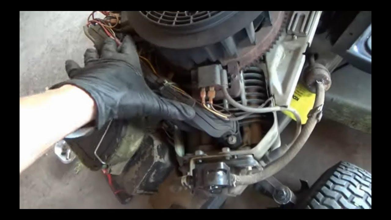 Lawn Tractor: Stall/Misfire/Runs Lean!
