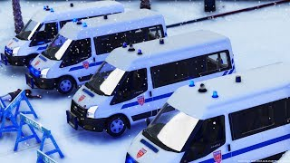 [GTA-LSPDFR] GILETS JAUNES VS FOULARDS ROUGES  | POLICE NATIONALE #171