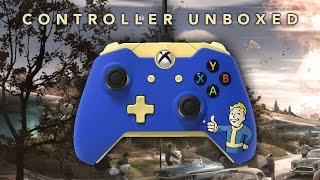 Fallout 4 Xbox One Controller Unboxing