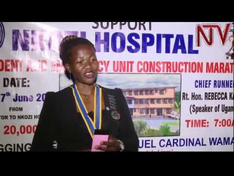 Rotary club partners with Nkozi hospital to construct emergency accident ward