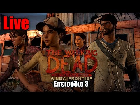 The Walking Dead: A New Frontier ep.3 Live