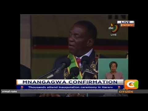 Mnangagwa's Inauguration speech