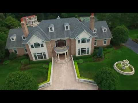 14 Pen Mor Dr Muttontown, NY Aerial Video Tour-4K