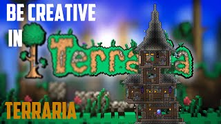 Be Creative In Terraria #6 | Medival Wizard Tower | ★ LionsPoor ★