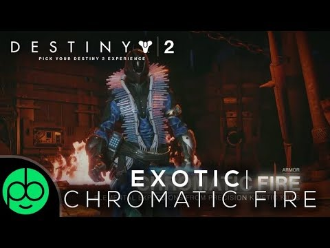 Destiny 2 Forsaken: Chromatic Fire Warlock Exotic Review!