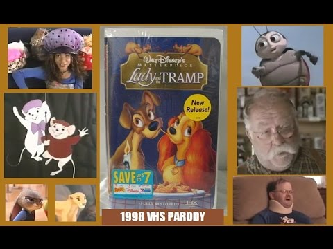 Lady And The Tramp Vhs Youtube