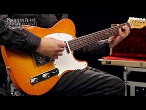 Fender Custom Shop 2012 Custom Deluxe Telecaster Electric Guitar, Rosewood Fretboard