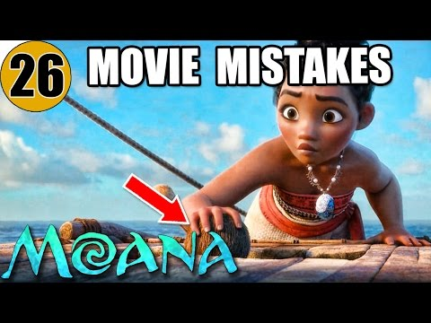 Thumbnail: 26 Mistakes of MOANA You Didn't Notice
