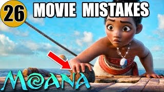 26 Mistakes of MOANA You Didn