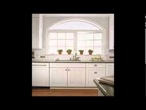 White Beadboard Kitchen Cabinets Youtube