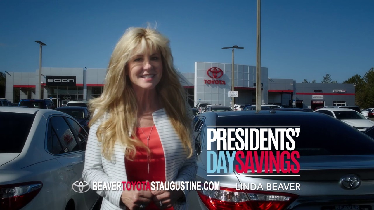 Beautiful Presidents Day Sale | Beaver Toyota St. Augustine Feb 2016